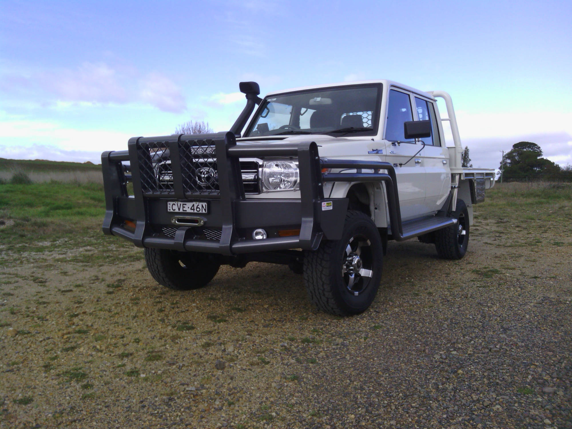 Toyota Of Orange >> 2014 Toyota 79 Series Landcruiser - Standard McCann, 60mm Double Scrubs - Powder-coated Steel ...