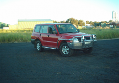 Pajero 60mm 2 post